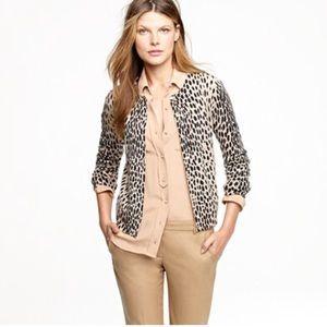 J. Crew wild animal leopard cheetah print xs